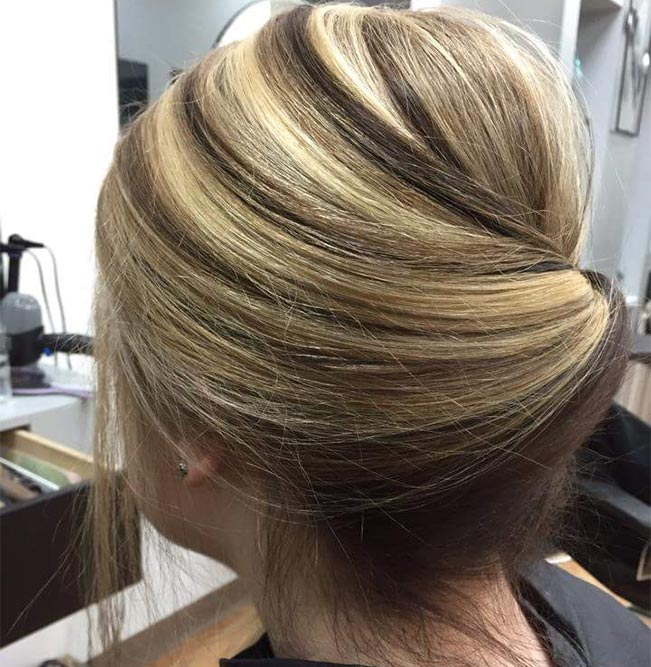 Highlight updo